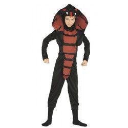 Déguisements, Déguisement cobra ninja enfant 5-6 ans, 87363, 23,50€