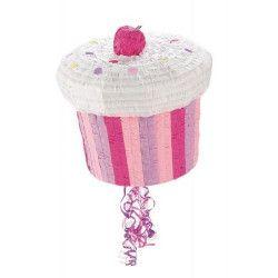 Pinata cupcake rainbow Déco festive 873651
