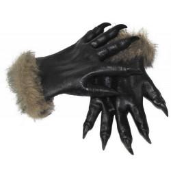 Gants loup-garou adulte halloween Accessoires de fête 87381