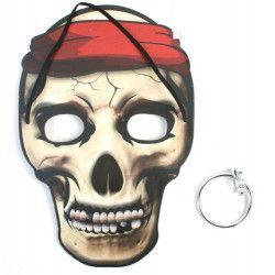 Masque pirate enfant boucle d'oreilles vendu par 24 Jouets et articles kermesse 13014-LOT