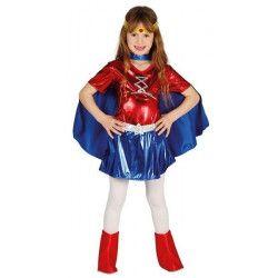 Déguisements, Déguisement super héroïne fille 10-12 ans, 87469, 19,90€