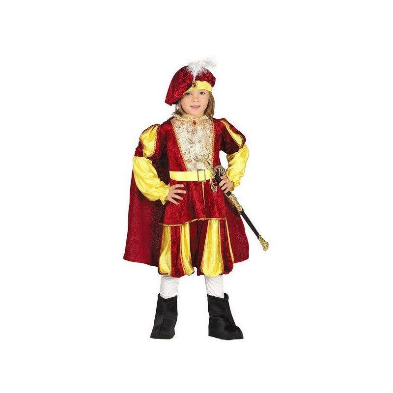 Déguisement prince médiéval garçon 5-6 ans Déguisements 87558