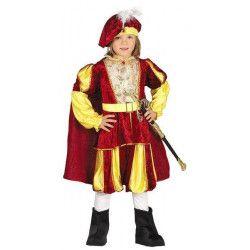 Déguisements, Déguisement prince médiéval garçon 7-9 ans, 87559, 24,90€