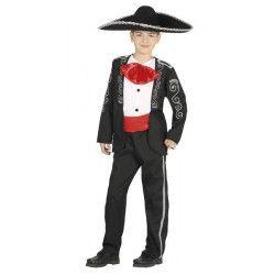 Déguisements, Déguisement mariachi garçon 5-6 ans, 87561, 27,50€