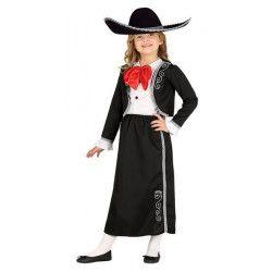 Déguisements, Déguisement mariachi fille 7-9 ans, 87565, 24,50€