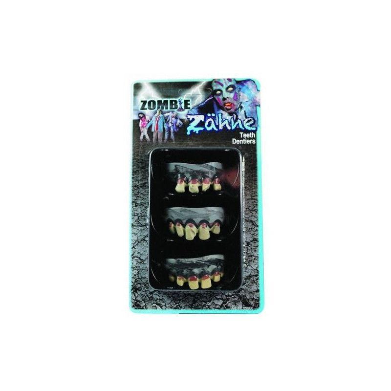 Set de 3 dentiers zombie halloween Accessoires de fête 87605960