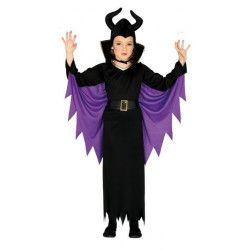 Déguisements, Déguisement fée noire halloween fille 5-6 ans, 87718, 22,50€