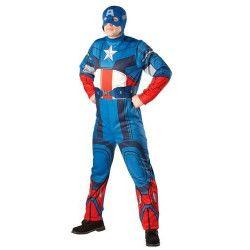 Déguisement Captain America homme taille unique Déguisements 880940