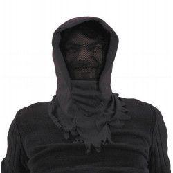 Cagoule noire invisible halloween Accessoires de fête 882020
