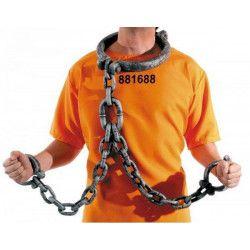 Chaîne de prisonnier Accessoires de fête 882031