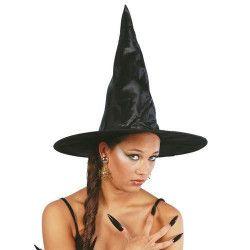 Chapeau noir de sorcière adulte Accessoires de fête 13217GUIRCA