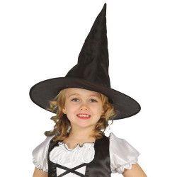 Chapeau noir sorcière enfant Accessoires de fête 13220