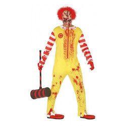 Déguisement clown zombie homme taille L Déguisements 88352