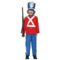 Déguisements, Déguisement petit soldat garçon 7-9 ans, 88440, 27,90€