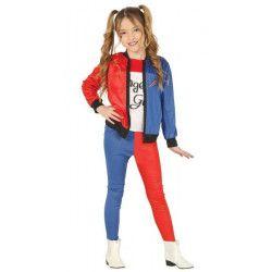 Déguisements, Déguisement Miss Dangerous girl fille 7-9 ans, 88451, 24,90€