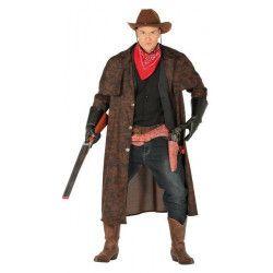 Déguisement manteau cowboy homme taille L Déguisements 88570
