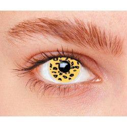 Lentilles fantaisie léopard Accessoires de fête 887022