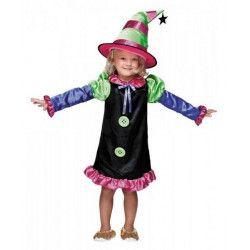 Déguisement sorcière colorée fille 4-6 ans Déguisements 888009