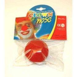 Nez de clown en mousse Accessoires de fête 89083