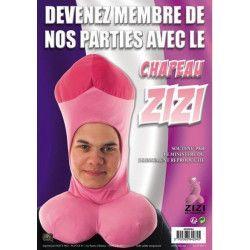 Chapeau zizi rose Accessoires de fête 8939824Z