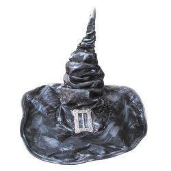 Chapeau sorcière gris adulte Accessoires de fête 902122