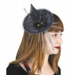 Petit chapeau de sorcière avec yeux de chat Accessoires de fête 902127