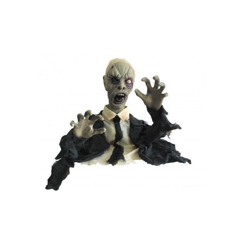 Zombie mort-vivant lumineux et sonore Déco festive 90223