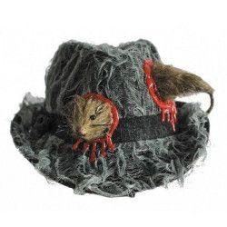 Chapeau borsalino avec trou à rat Accessoires de fête 90227