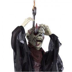 Décoration monstre zombie empalé à suspendre Déco festive 9041