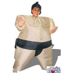 Costume adulte gonflable de Sumo Déguisements 90413