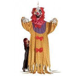 Décoration clown horreur à suspendre hauteur 3.50 m Déco festive 9072