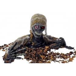 Tête de cadavre animée Déco festive 90953898