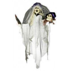 Mariée zombie animee à suspendre Déco festive 90953930
