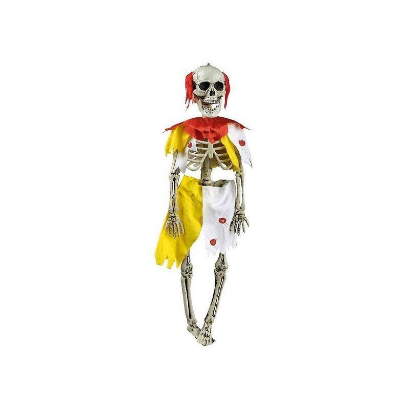 Squelette clown zombie halloween à suspendre Déco festive 90955257