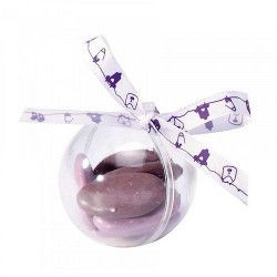 Lot de 5 contenants boule plexi transparente 5 cm Déco festive 91575
