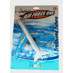 Avion de ligne plastique 23 cm kermesse Jouets et kermesse 13377MH