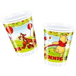 Party gobelets plastique Winnie the Pooh x 10 Déco festive 92057
