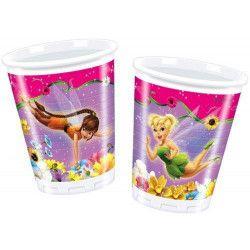 Party gobelets plastique Clochette et ses amies x 10 Déco festive 92162