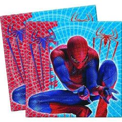 Serviettes The Amazing Spiderman x 20 pièces Déco festive 92171