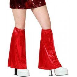 Accessoires de fête, Jambières disco rouges, 13379, 5,50€