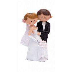 Couple de mariés en résine décoration mariage Déco festive 92373