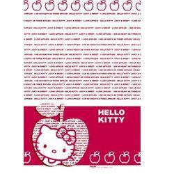Déco festive, Party nappe Hello Kitty Apple 120cm X 180cm, 92456, 4,00€