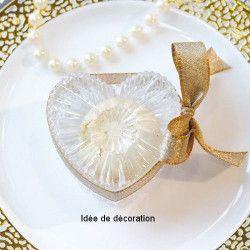 Boite coeur en plexi martelé Cake Design 92843