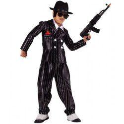 Déguisements, Déguisement gangster Don Vito enfant 11-13 ans, 92912, 29,90€