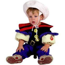 Déguisements, Costume marin musclé 18 mois, 93018, 29,70€