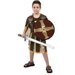 Déguisement guerrier romain avec bouclier garçon 3-4 ans Déguisements 94189