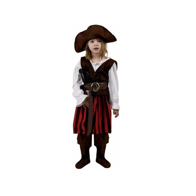 Déguisement pirate avec chapeau fille 7-9 ans Déguisements 94419