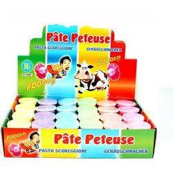 Pâte péteuse fluo 30 grs vendue par 24 Jouets et articles kermesse 13465-LOT