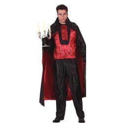 Déguisement prince des ténébres rouge homme taille S Déguisements 95222