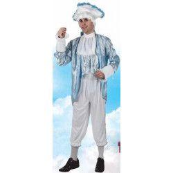Deguisement courtisan bleu homme taille M-L Déguisements 95358